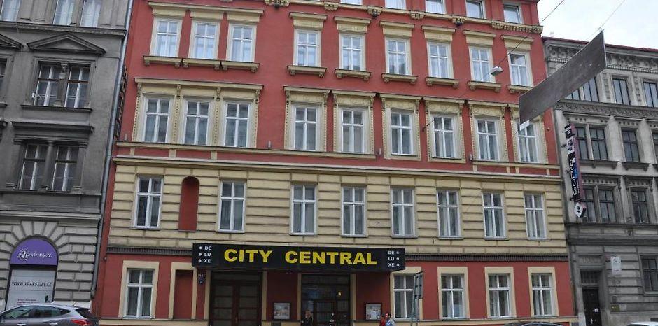 Hotel city central de luxe prague for Hotel city central prague